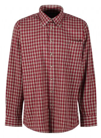 Outdoor Country Shirt Shellbrook By DEERHUNTER Claret Check Comfortable Cotton